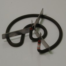 Electric burner element
